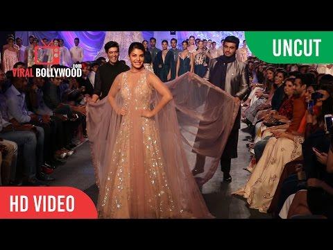 UNCUT - Lakme Fashion Week 2016 | Opening Show | Arjun Kapoor & Jacqueline | Manish Malhotra