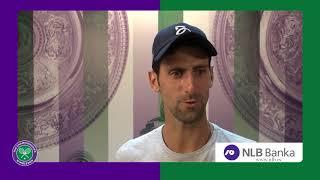 Super Raspoloženi Novak Nakon Pobede nad Nadalom   SPORT KLUB Tenis