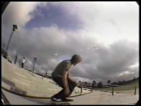 Dean Palmer skateboarding