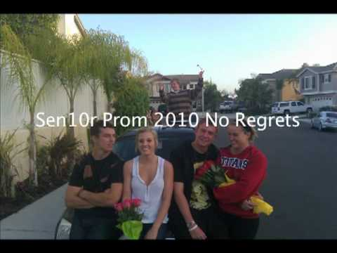 Sen10r Prom 2010 No Regrets (Dead and Gone Parody) Video