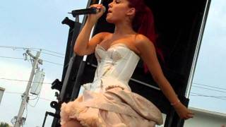 Ariana Grande taking my camera on stage