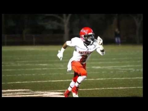 Nazir Achecar #2 Carrollwood Day School Class of 2017 WR/DB/PR/KR