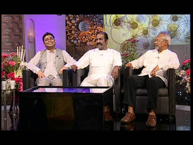 Koffee with DD - AR Rahman, Vairamuthu and Manirathnam | Promo 3