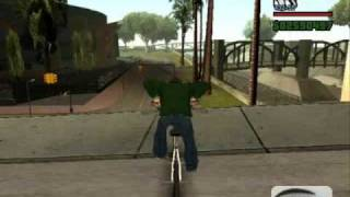 Jak zrobić fajny trick w GTA SA.