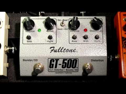 Fulltone GT-500 pedal demo