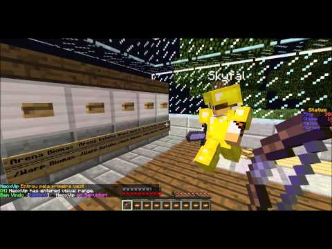 Server Minecraft 1.5.2 NoCraftFall (Full PvP)Sem Hamachi