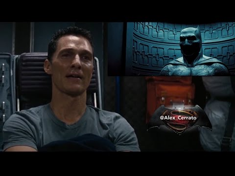Matthew Mcconaughey's reaction to Batman v Superman Teaser