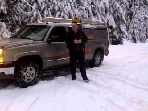 Snow Storm Washington