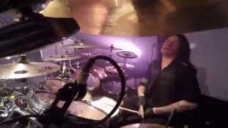 ARCH ENEMY Daniel Erlandsson - War Eternal - Drum-cam