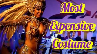 MOST EXPENSIVE COSTUME EVER CRAFTED: BRAZILIAN COSTUME USED BY 2014 RIO CARNIVAL QUEEN