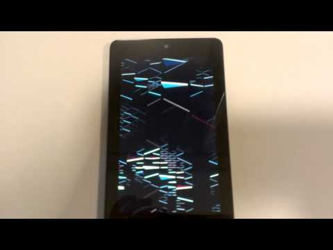 Android 4.1 Jelly Bean boot animation (as seen on a Nexus 7)