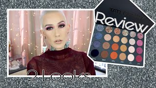 Tati Beauty Textured Neutrals Palette Review & 2 Looks