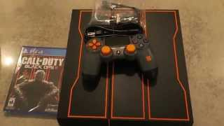 Unboxing Black Ops 3 Playstation 4
