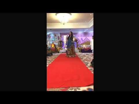 Radhastami Dance Performance 2014 by Radhika and Akshay. Bhumro...