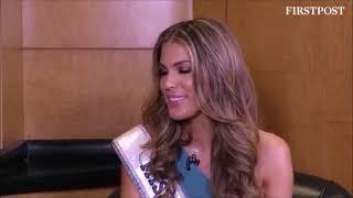 Iris Mittenaere Interview India - Miss Diva