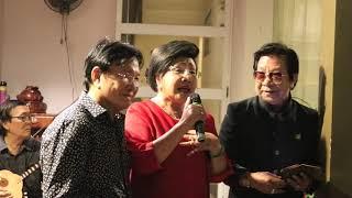 NSND LỆ THỦY hát XUÂN THA HƯƠNG tại nhà Mùng 2 Tết 2019