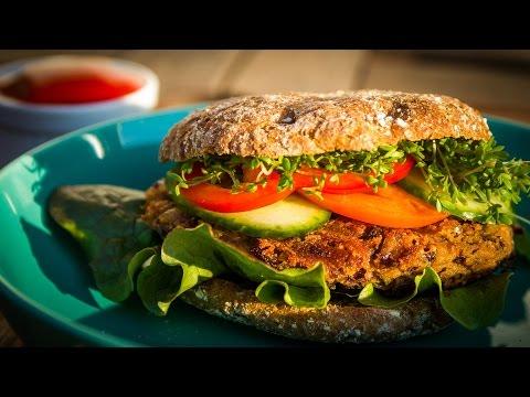 Azuki Bohnen Burger Rezept vegan | Der Bio Koch #720