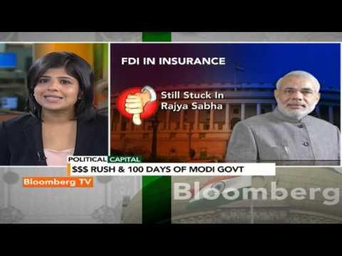 Political Capital- FDI Rush & 100 Days Of Modi Govt