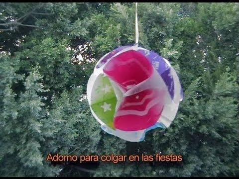 Adorno de navidad bola navide a manualidades para - Esferas de navidad ...