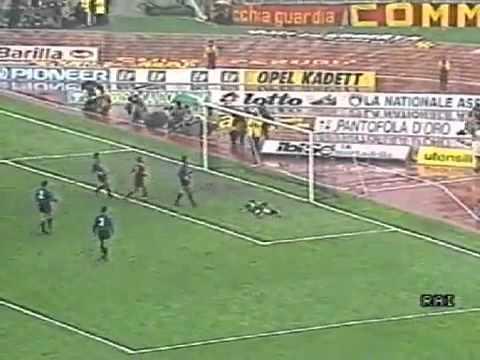19° Giornata del Campionato 1986/1987 Goal : 30' K.Berggreen (Roma)