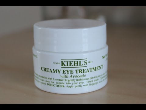 review kiehls creamy eye treatment with avocado youtube. Black Bedroom Furniture Sets. Home Design Ideas