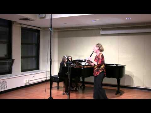 Arturo Marquez:  Zarabandeo for Clarinet and Piano (1995)