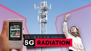 Video: Is 5G Safe? | Health Risk Analysis with Radiation Meter - Vtudio