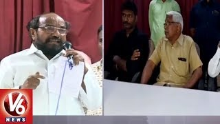Prof Kodandaram And R. Krishnaiah Supports SI And Constable Candidates Protest