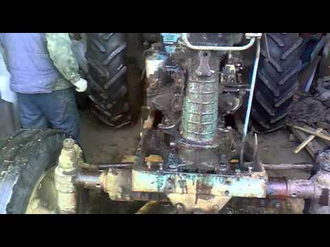Ремонт рулевого управления трактора МТЗ-80, МТЗ-82