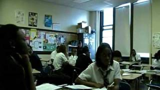 Sabir Bey speaks at Business Tech HS of Philladelphia pt 2