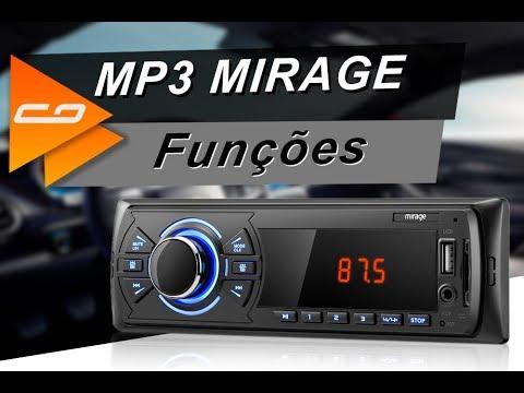 MP3 Player Automotivo Mirage P3323M + Pen Drive Veja Suas Funções – Connect Parts