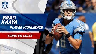 Every Brad Kaaya Pass Against Indianapolis | Lions vs. Colts | Preseason Wk 1 Player Highlights