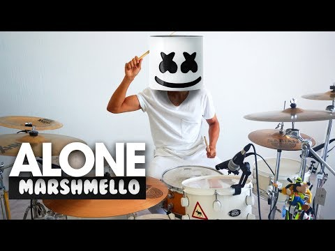 ALONE - Marshmello | Drum Remix (COVER)