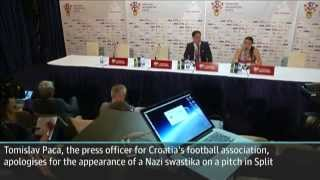 Croatia deducted one point from Euro 2016 qualifiers over swastika image