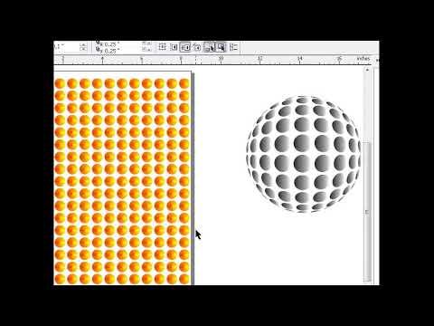 Menerapkan fish eye Coreldraw X3