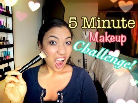 5分メイクチャレンジ!!5 Minute Makeup Challenge!!