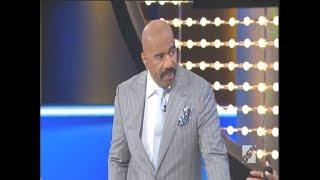 Steve Harvey Kills On Family Feud 2 (slight return)