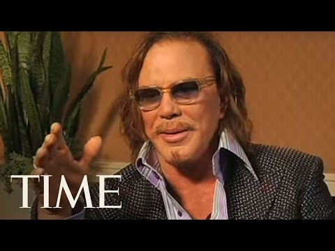 TIME Magazine Interviews: Mickey Rourke