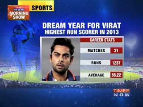 Virat Kohli snubbed for award