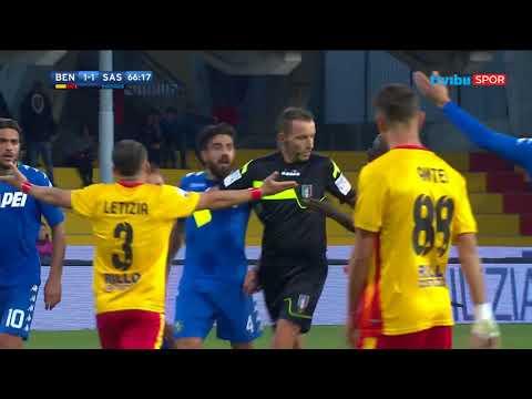 Serie A 13. Hafta | Benevento 1-2 Sassuolo Maç Özeti