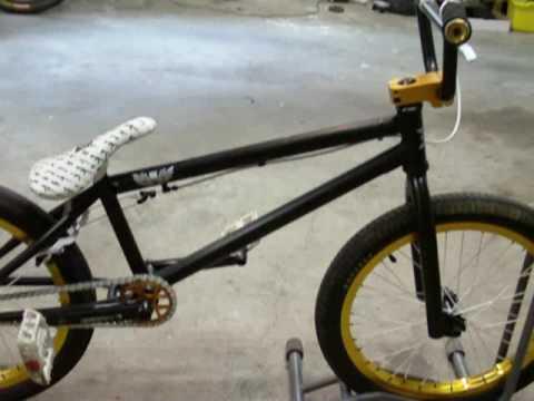 Black And Purple Custom Bmx Custom Black Eye Bmx Bike