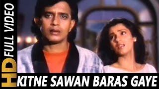 Kitne Sawan Baras Gaye|Anuradha Paudwal| Bees Saal Baad 1988 Songs| Mithun Chakraborty, Dimple