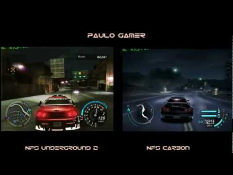 Para voc, qual o melhor nfs .. Underground 2 ou Carbon ?
