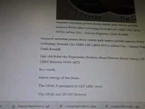 Science News Muons2e Electrons Cross Ref Alien Technology Formulas Line 16b WOW SETI