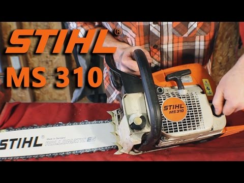 Stihl MS 310 Review and cut