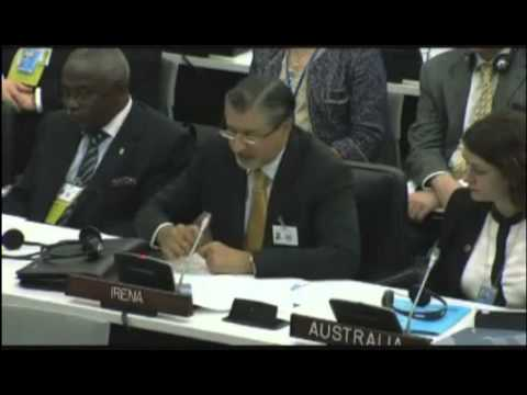 IRENA Director-General at the UN Sustainable Energy for All Forum