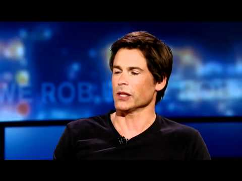 Rob Lowe Talks About Martin Sheen and The West Wing