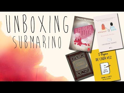 UNBOXING LIVROS SUBMARINO - [Chiclete Violeta]