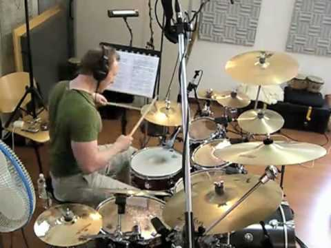 Overboard (instrumental) recording session @ Artesuno studios, Italy
