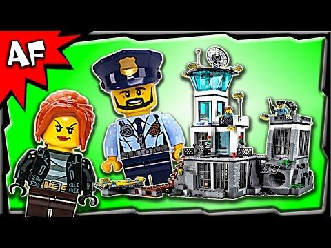 Lego City PRISON ISLAND 60130 Stop Motion Build Review